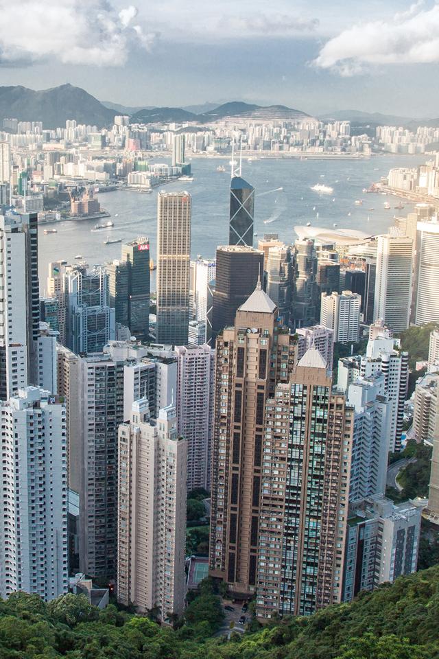 Hong Kong Skyscraper Wallpaper