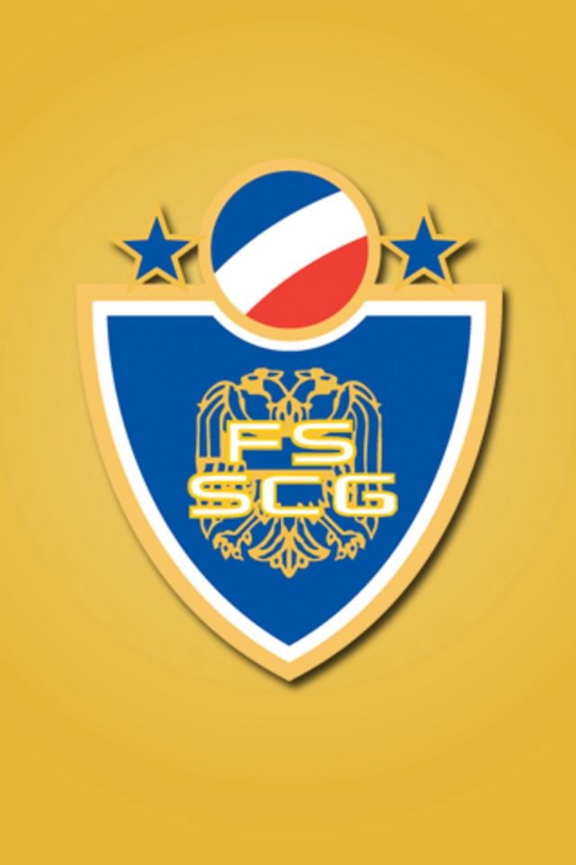Serbia and Montenegro Football Logo Wallpaper