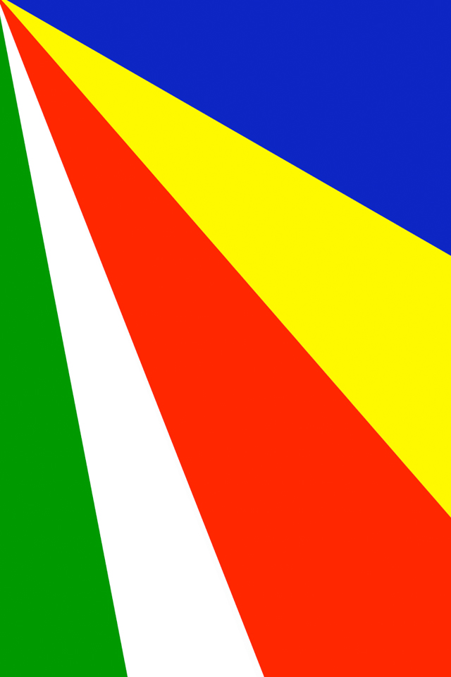Seychelles Flag Wallpaper