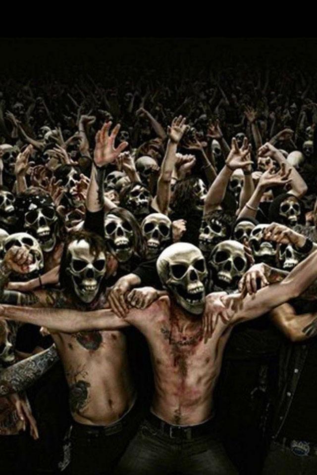 Human Skulls Wallpaper