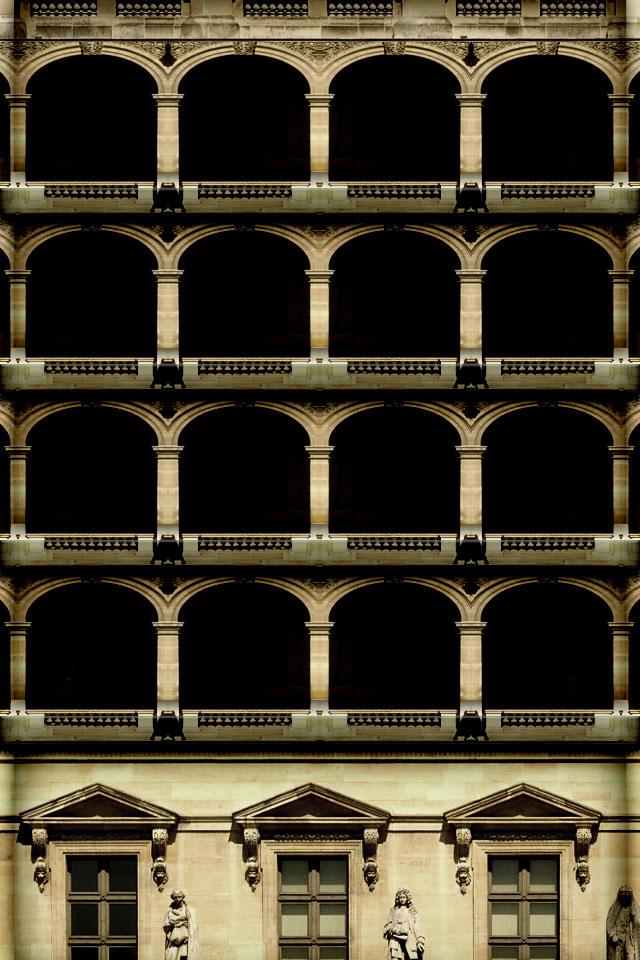 Architecture Shelf Wallpaper
