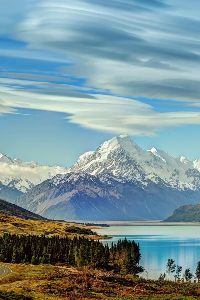 New Zealand Mountains Wallpaper