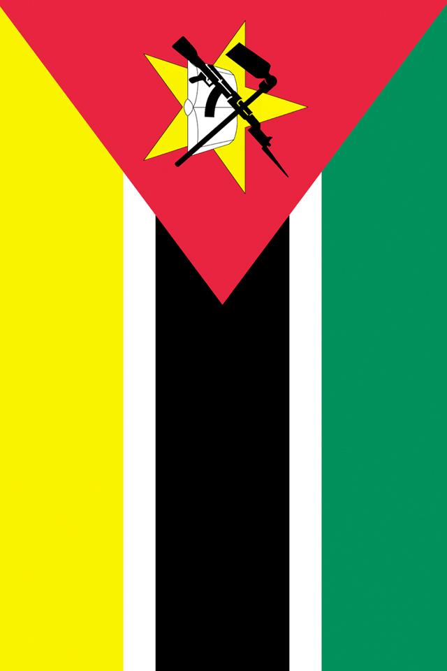 Mozambique Flag Wallpaper