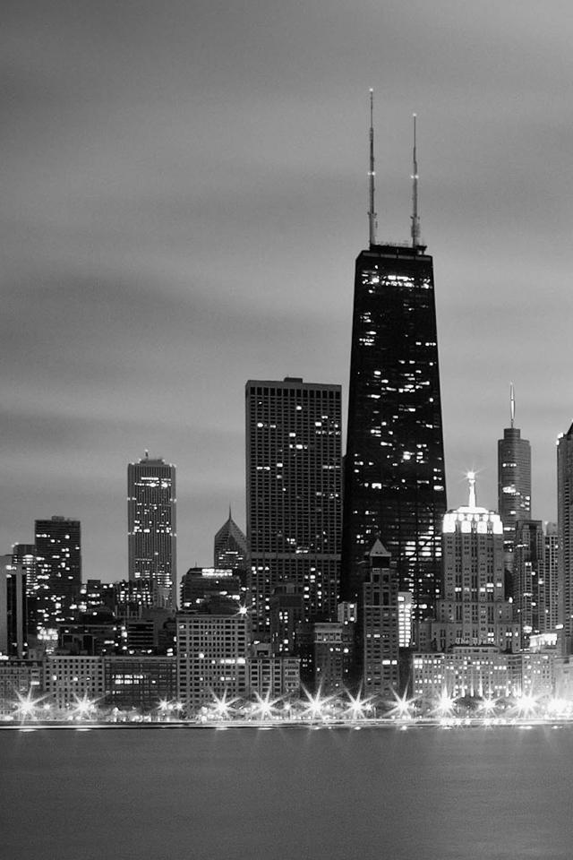 Chicago skyline iphone wallpaper hd iphone 44s 640x960 voltagebd Gallery