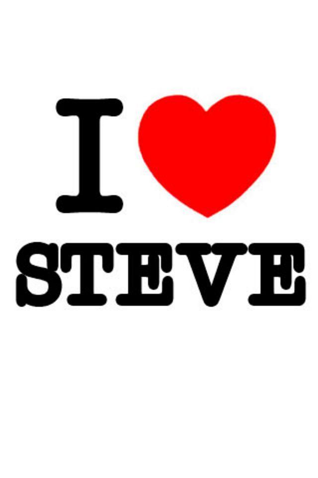 I Love Steve Wallpaper