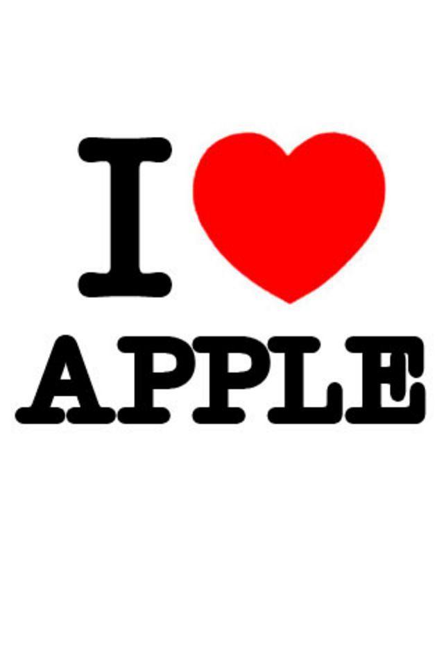 I Love Apple Wallpaper