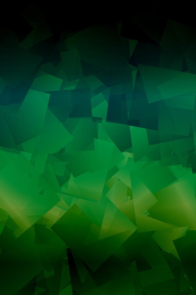 Fallen Greens Wallpaper