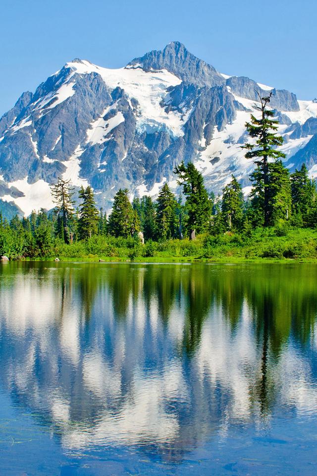 Washington Lake Wallpaper