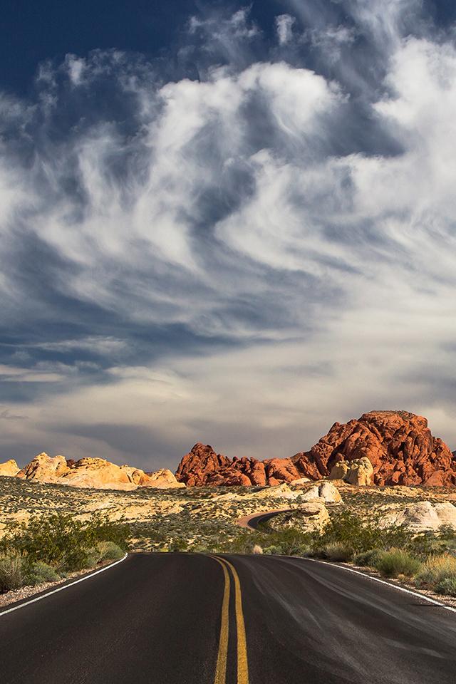 Las Vegas Desert Wallpaper