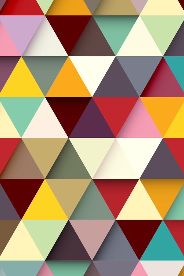 Triangle Puzzle Wallpaper