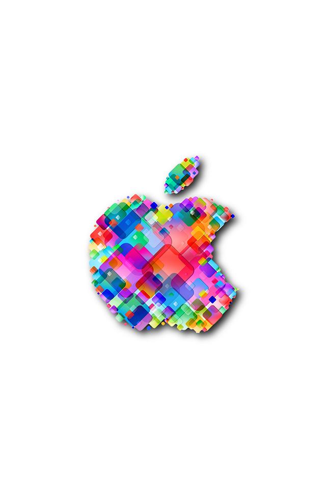 Apple Tiles Wallpaper