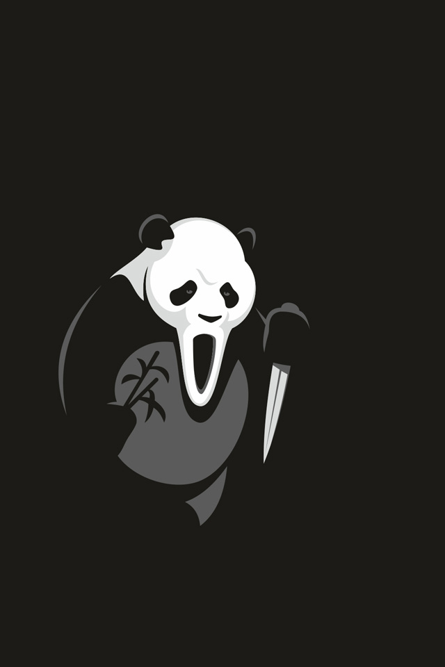 Panda Halloween Wallpaper
