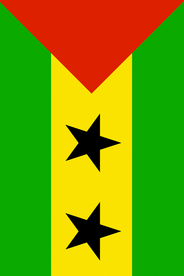 Sao Tome and Principe Flag Wallpaper