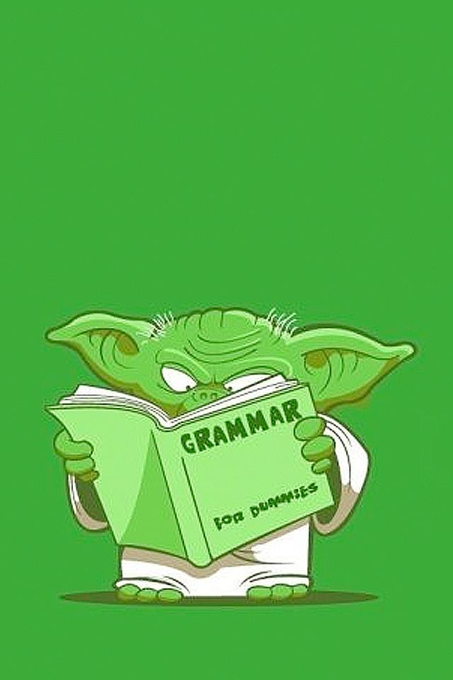 Yoda Grammar Wallpaper