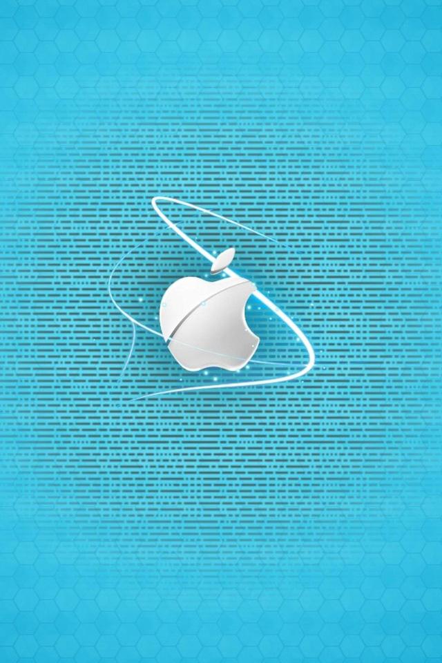 Apple Pattern Wallpaper