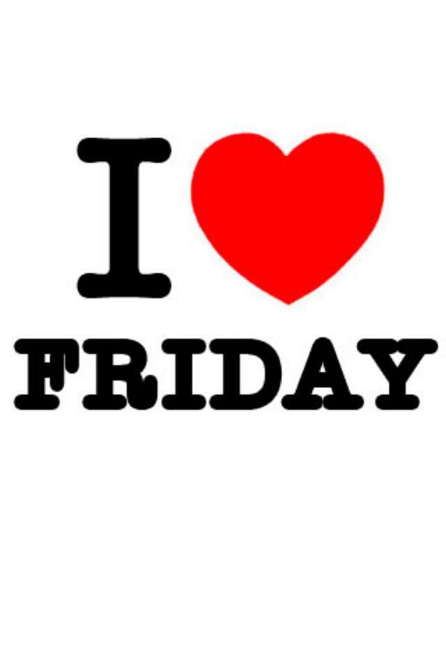 I Love Friday Wallpaper