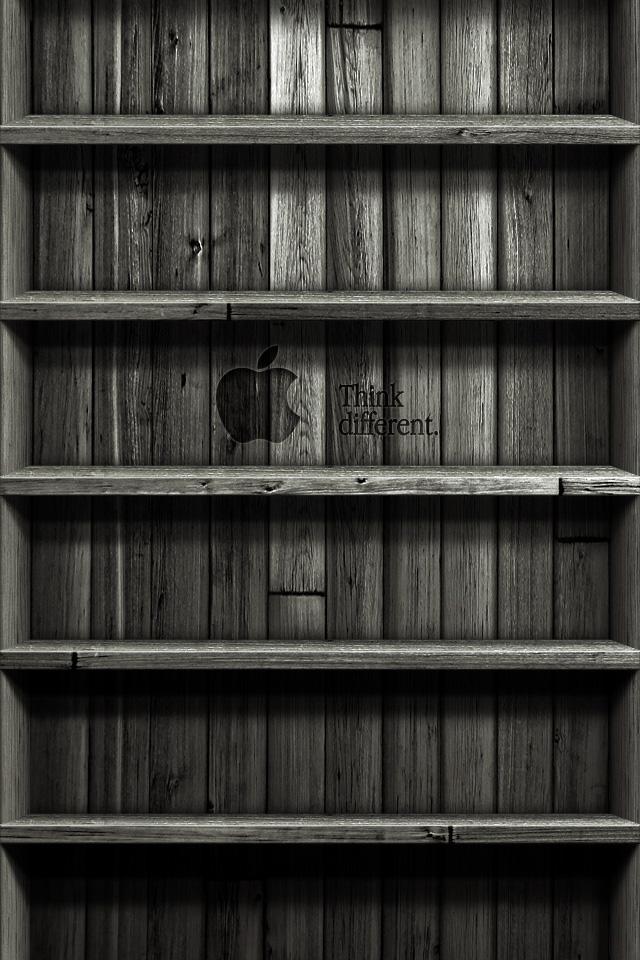 iPhone 5 Shelf Wallpaper