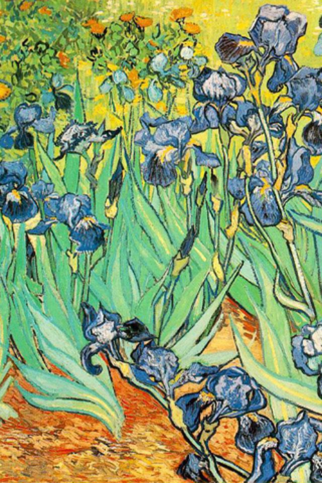 Irises Wallpaper