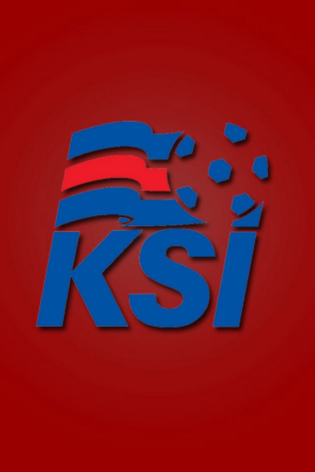 Iceland Football Logo Wallpaper