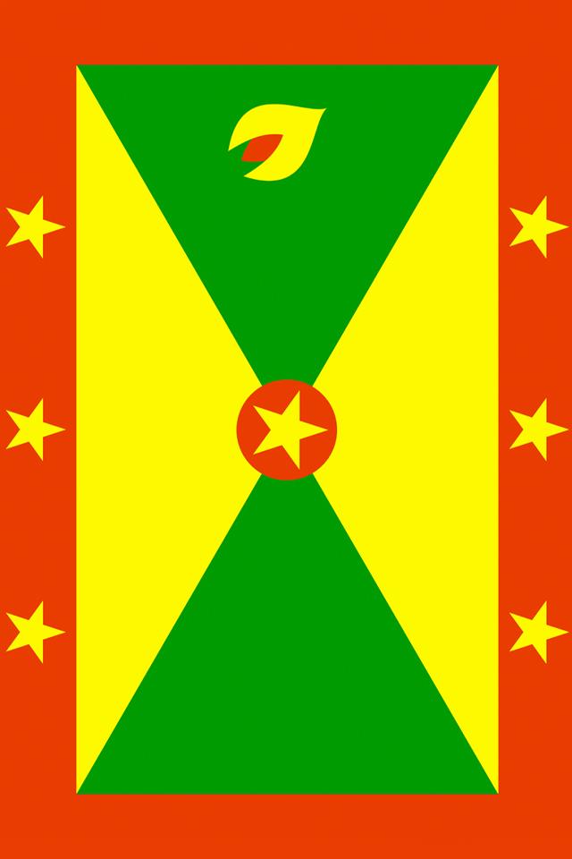 Grenada Flag Wallpaper
