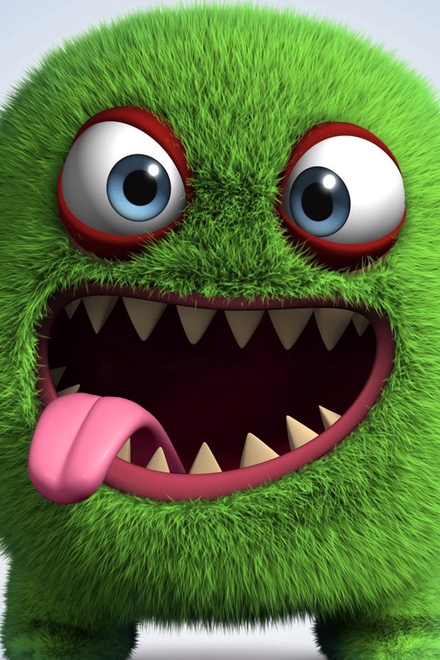 Cute Monster Iphone Wallpaper Hd