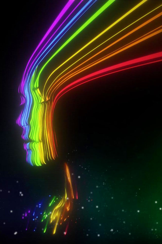 Spectrum Girl Wallpaper