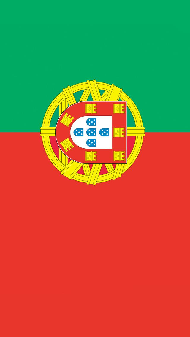 portugal flag iphone wallpaper hd
