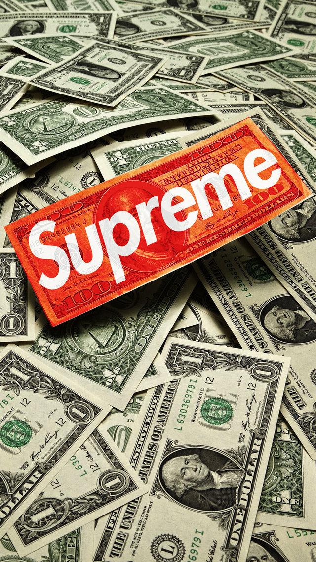 Supreme cash iphone wallpaper hd - Supreme wallpaper iphone 6 ...