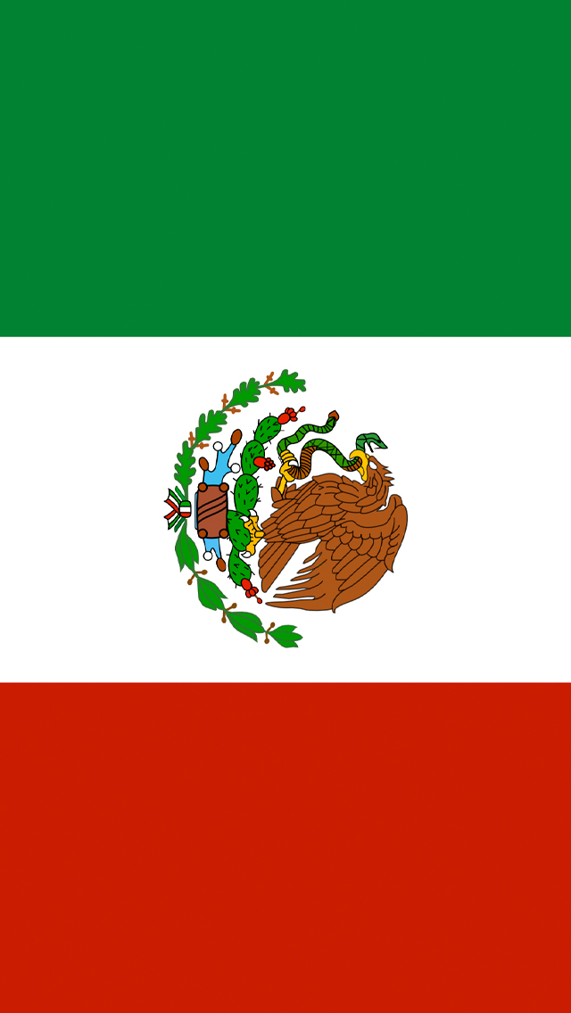 mexico flag iphone wallpaper hd