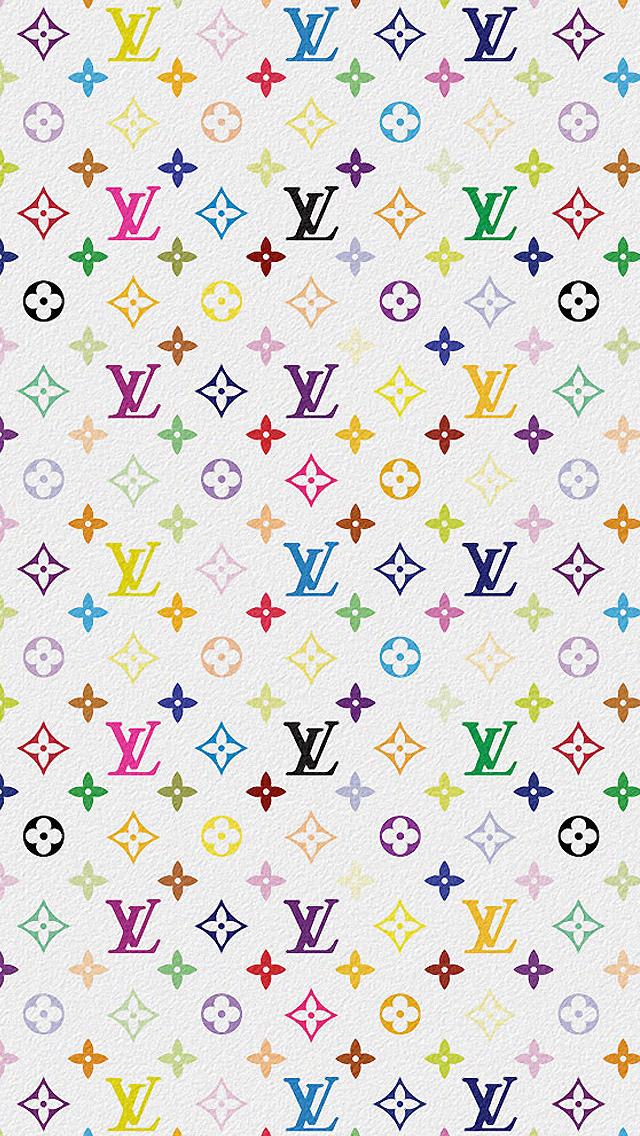 Download Louis Vuitton Multicolor Download Wallpaper. iPhone 5/5S/C (640x1136) ...