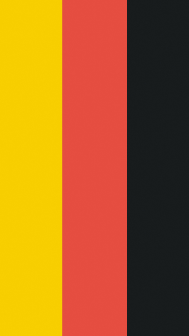 Download Germany Flag Wallpaper IPhone 5 5S C 640x1136