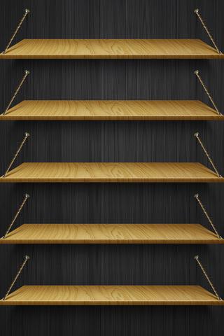 iPhone 5 Shelves