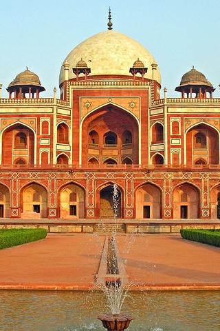 India Humayuns Tomb