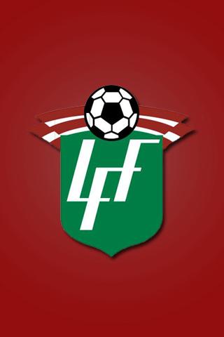 Latvia Football Logo