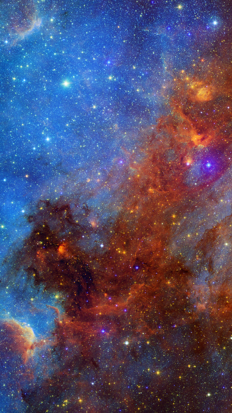 nebula iphone wallpaper hd