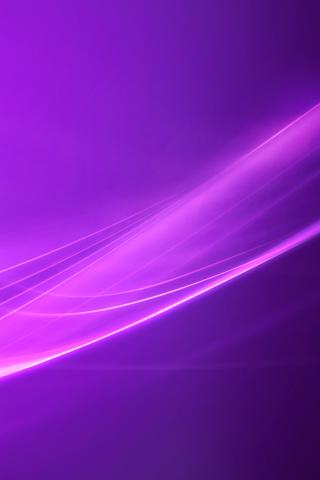 Vista Purple iPhone Wallpaper