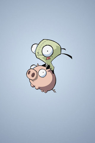 Pig and Alien