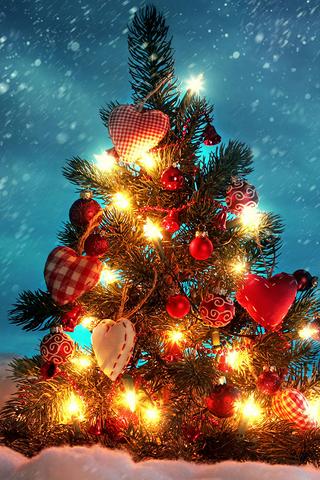 Christmas Tree with Ligh...