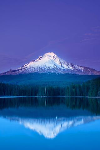 Mountain Snowscape