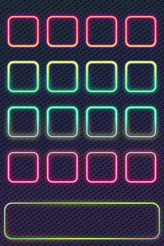 Neon Shelf