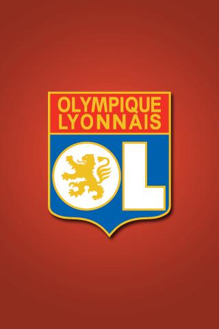 Olympique Lyonnais iPhone Wallpaper