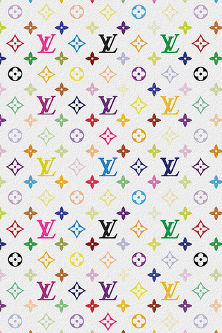 ea81328fe2ba9 Louis Vuitton Multicolor iPhone Wallpaper HD