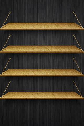 Hardwood Shelf