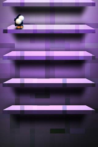 Violet Shelf