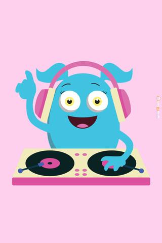 Monster DJ Girly