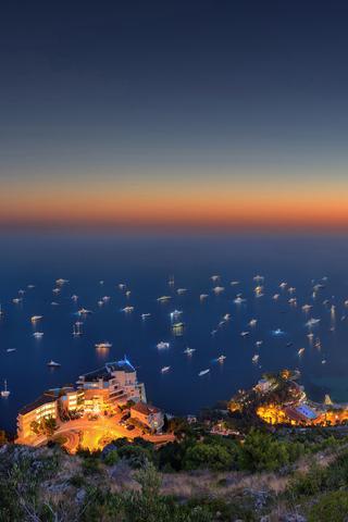 Monaco Sunset