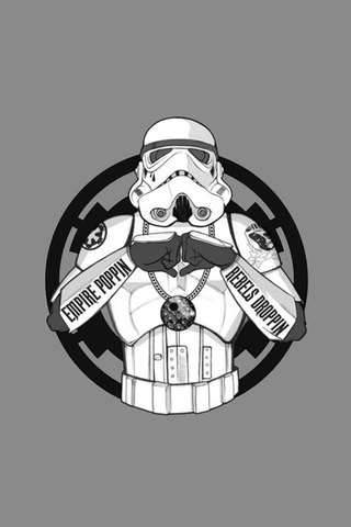 Gangsta Stormtrooper