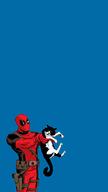 Deadpool Kitten