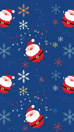 Santa Pattern