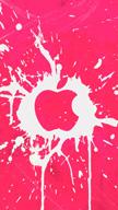 Ink Splat Apple